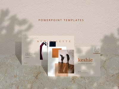 Keshie Creative PowerPoint Template