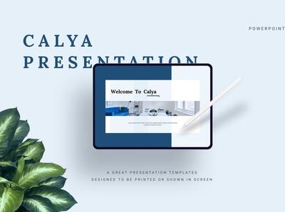 Calya Minimalist PowerPoint Template