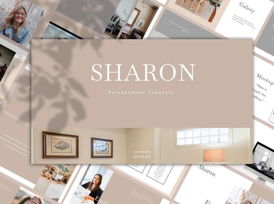 SHARON - PowerPoint Template