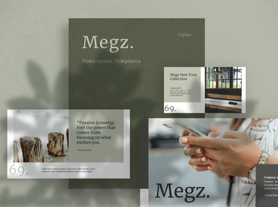 Megz Creative PowerPoint Template