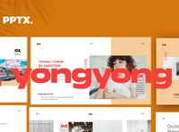 YONG//YONG - Powerpoint Brand Design