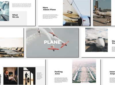Plane - Powerpoint Template
