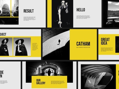 Catham - Powerpoint Template