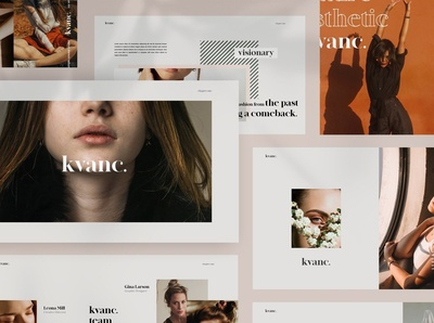 Kvanc - Powerpoint Brand Guideline