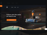 Swimming cars site concept