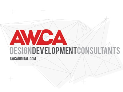 AWCA Logo logo design agency design brand logo