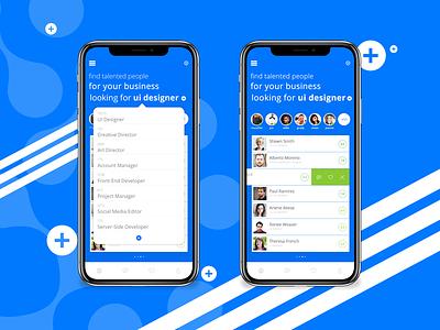 Creakie - Screen login app mobile