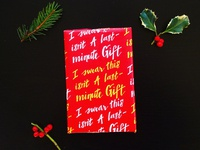 Last Minute Wrapping Paper