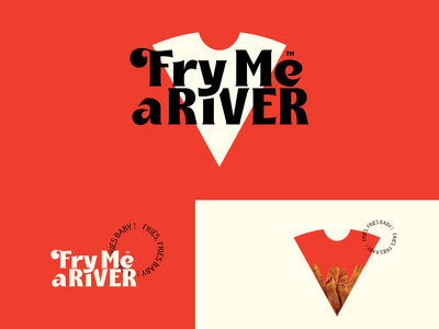 F.M.A.R Fries Fries Baby ! design food fries vector branding logo