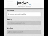 jotdwn homepage