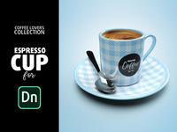 Espresso Cup Mock up