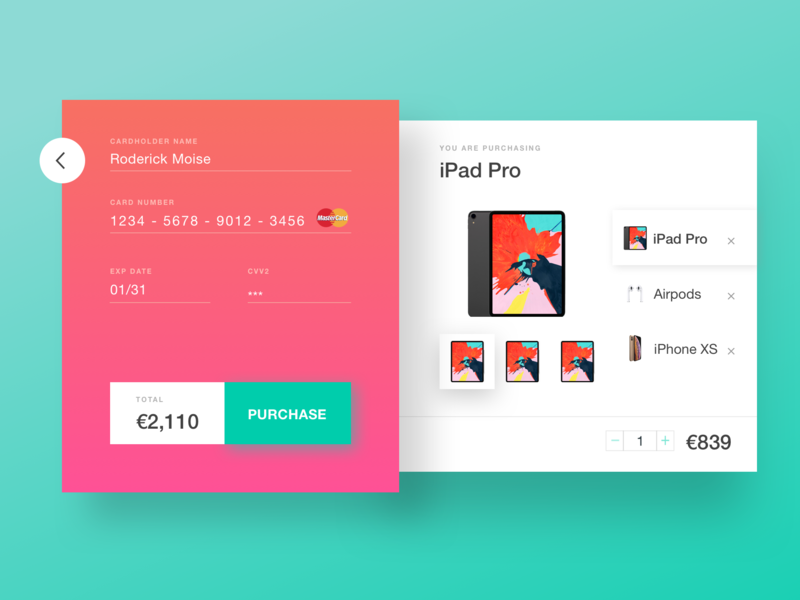 Daily UI: #002 Credit Card Checkout dailyui checkout process checkout form daily challenge web design user inteface ui