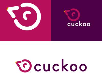 Cuckoo branding illustration logo