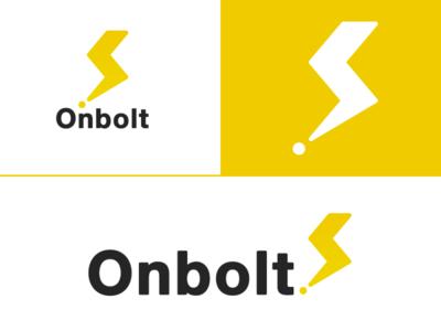 Onbolt logo branding