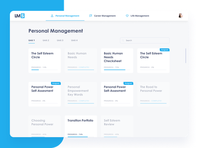 LMS system design admin panel application interface ux ui dashboard design dashboad service study learn school system lms