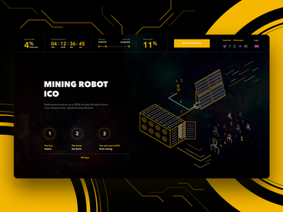 Cryptocurrency project crypto landing business cryptocurrency