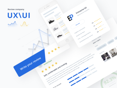 Review Site & Interface Design