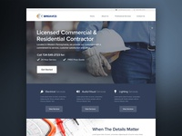 Commercial & Residential Contractor - Homepage