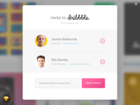 Day021 dribbble invitation modal 2x