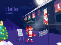 hello dribbbler ! merry christmas !