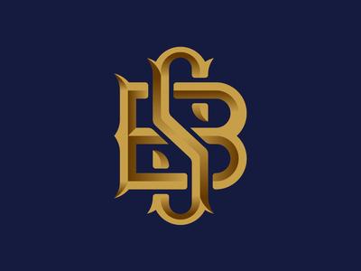 B S - Monogram
