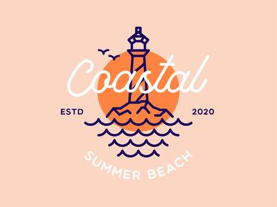 Coastal Summer Beach