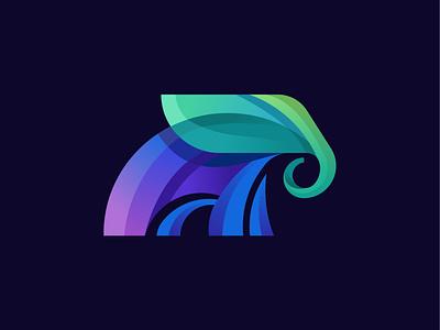 Elephant symbol logodesigner logo illustration icon identity elephant brandmark branding brand animal