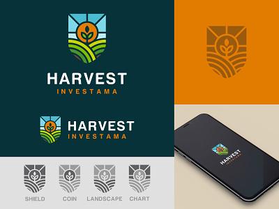 Farm farming branding illustration farm