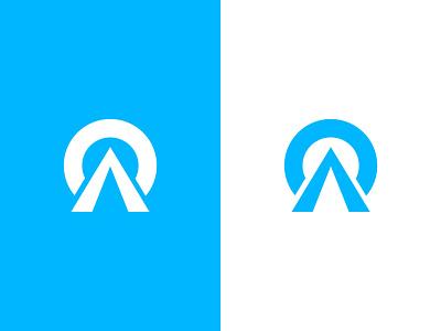 AO | Logo Design o a mark identity data geometric symbol app icon business financial monogram branding logo