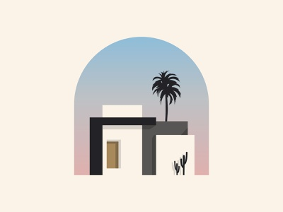 House minimalist modern identity brand logo vector city building graphics icons real estate construction architecture design home house illustration