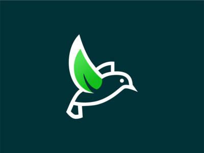 Bird Leaf Logo creative logodesigner logoshift logomark logonew logotype logoinspirations branding logodesign logos logo