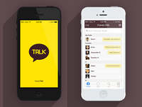 Kakaotalk iOS7 Re-Skin