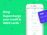Drop - Supercharge your credit & debit cards