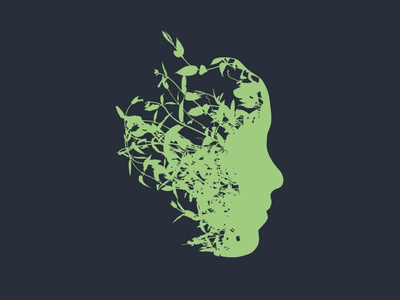 Spring Mind Logo Concept