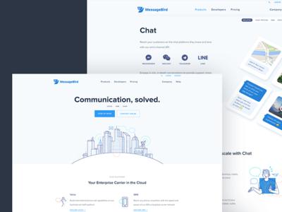 MessageBird Redesign