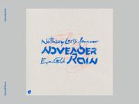 November rain handlettering typography design logo procreate art digital art artistic