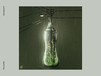 The bottle imagination digital art abstraction abstract art illustrator illustration procreate art artistic
