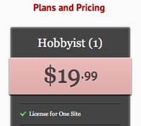 Pricing Column for Artsy Editor artsy editor wordpress editor