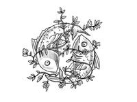 Pisces - Horoscope concept