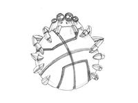 Spider Ball - logo concept