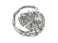Chinese Monkey Zodiac Sketch