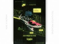 Nike x ACROИYM by TECHUNTER