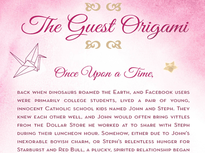 Guest Origami
