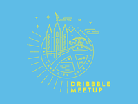 SLC Dribbble meetup shirt