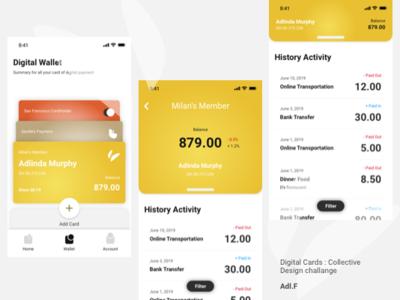 UI Wallet - Digital Card : Collective