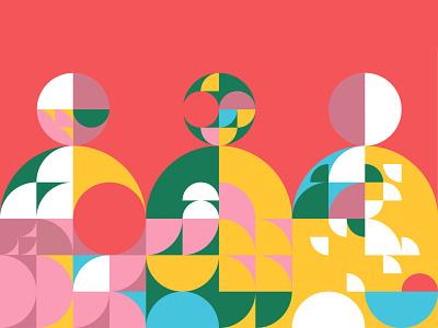Youth form avantgarde print illustrator illustration illustrate martovsky abstraction circle