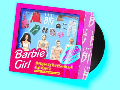 Barbie Girl Cover contest sketch art illustrator illustration