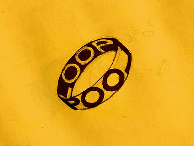 19. Loop typo type loop mrtvsk inktober logo art sketch illustrator illustrate illustration martovsky
