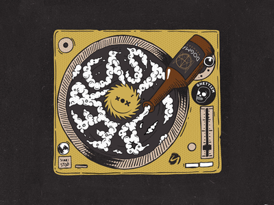 Beercast cover radio cast podcast craft beer ezhprom cd vinyl mix dogma bottle dj deejay music cover