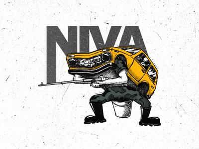 """Lada 2121 """"Niva"""" 4х4 Soviet Off-road car"""